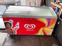 AHT / Walls Ice Cream Freezer / Shop Display Freezer - 1.5 Meter Wide- Used