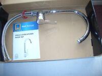 Single lever kitchen mixer tap