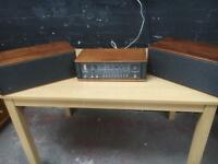 Fabulous mid century B&O radio and speakers