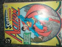 Vintage DC Superman Action Comic