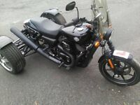 Harley Davidson Trike, 750cc, 2016 model, only 140 miles on the clock, bulit by G Force.
