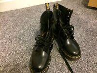 Doc Martin black boots
