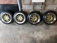 Alloy Wheels! 4x108 Cades Euros