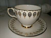 Queen Anne bone china cup & saucer Vintage