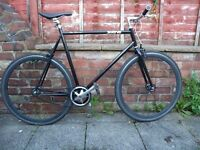 """Single speed 24"""" Swerve road bike - excellent condition"""
