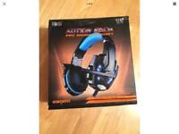 Motion Each G9000 Gaming Headset For Microsoft Xbox One PS4