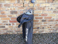 golf clubs bag and balls for sale