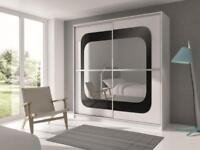 MARG CLASSIC BRAND NEW CALCEA 2 DOOR WARDROBE (SLIDING) MIRROR