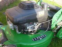 """Mower. Lawn Mower. John Deere mower R54RKB, 54cm / 21"""" wide cut."""