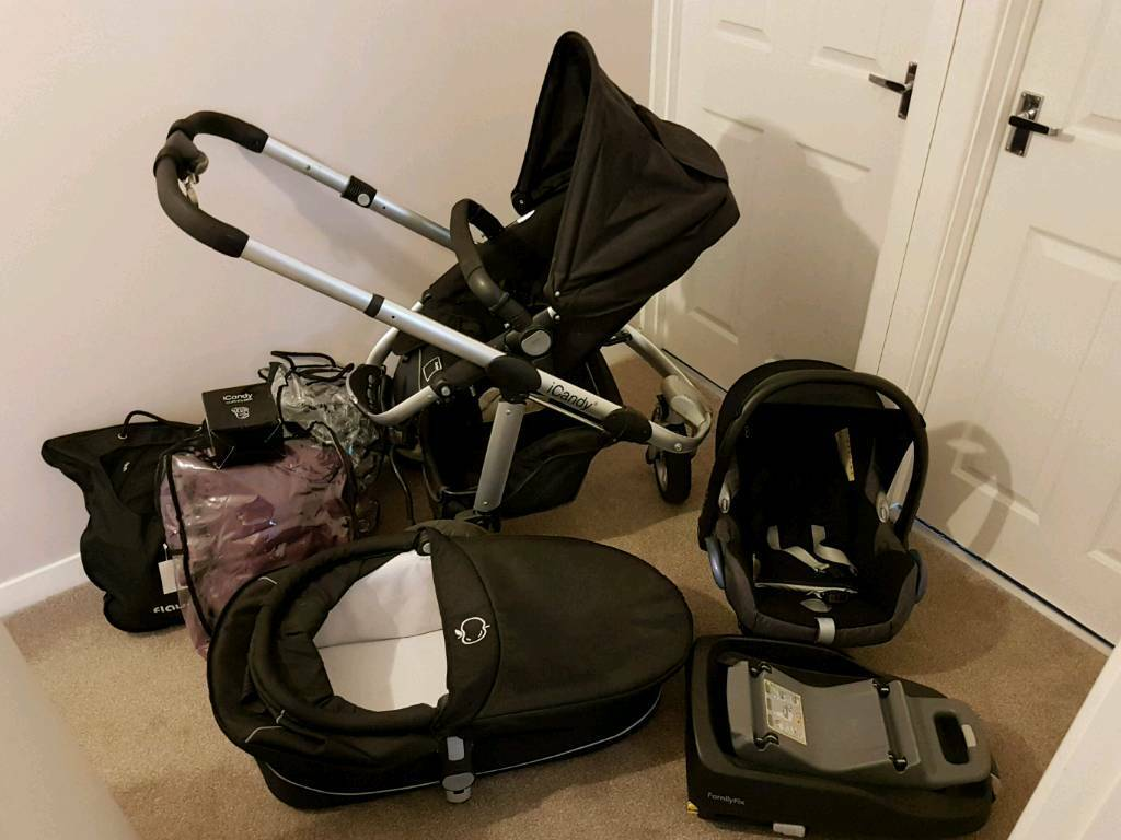 Icandy Travel System Car Seat And Isofix In Gorseinon Swansea Gumtree