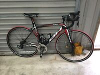 BH RC1 full carbon race bike size 53cm top tube with Shimano Ultegra electronic DI2 10 speed