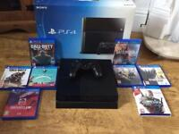 PS4 with all extras.
