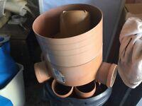 Underground drainage parts
