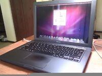 Apple laptop 250 hardrive and 2gb ram