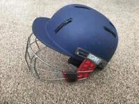 Cricket helmet and glove