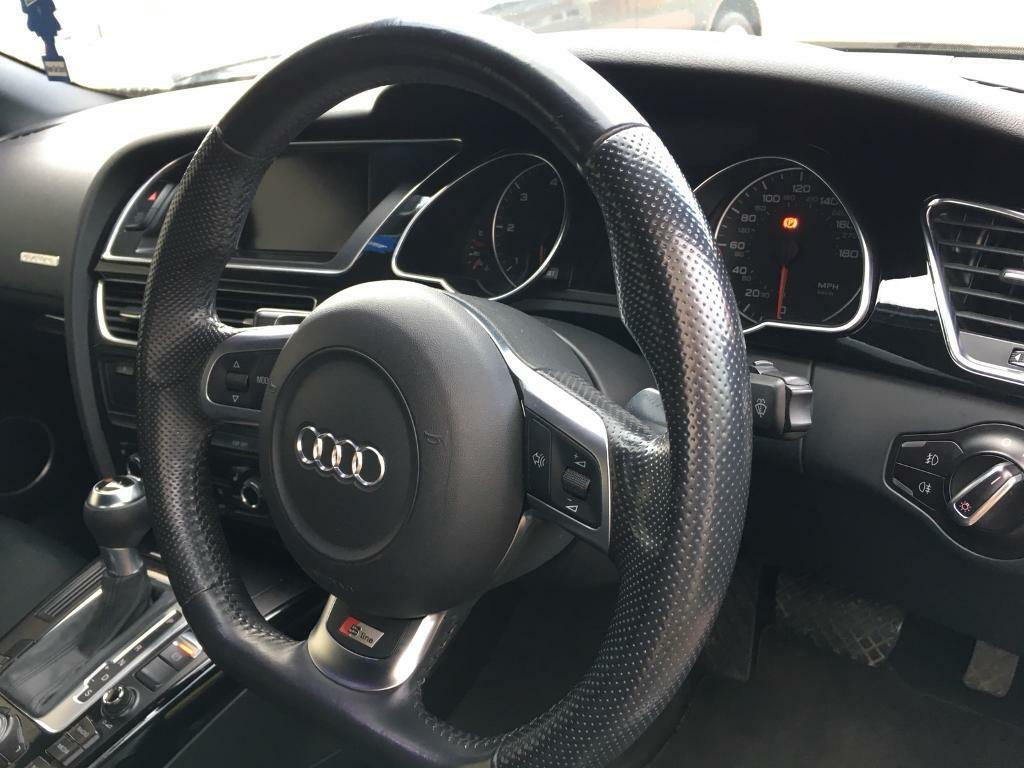 Audi RS6 Flat Bottom Steering Wheel + Airbag, S5 S4 RS4 A5 A4 A6
