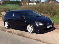 2002 Honda Civic Type R EP3 Modified