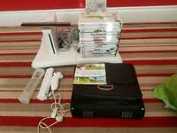 Nintendo Wii 15x games fit board extras