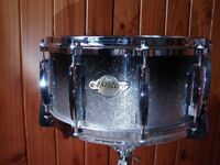 Pro Pearl Masters Range MCX Snare Drum with Mastercast Hoops & Case