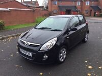Hyundai i20 Edition 2010, 1.2 petrol, One year mot mint condition