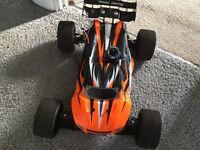 Nitro RC car