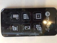 Mobile phone Moto G4 and memory card
