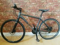 "Voodoo Marasa RRP £400 18"" Hybrid Bike. Excellent Condition. Hydraulic Brakes. Alloy Frame."