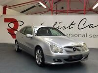 MERCEDES C220CDI SE AUTO SPORT COUPE [STUNNING EXAMPLE / FULL SERVICE HISTORY / FANTASTIC SPEC]