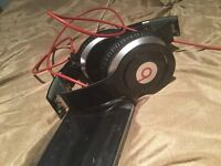 Black beats by dr. Dre headphones