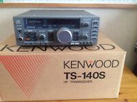 kenwood ts140s hf radio