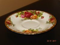 Royal Albert Old Country Rose Small Saucers x 6