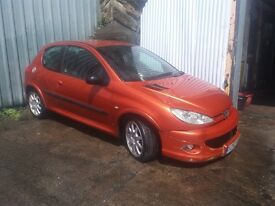 PEUGEOT 206 GTI FOR SALE <<>> SPARE OR REPAIR <<>>> £250 ONO ***PLEASE READ DESCRIPTION ***