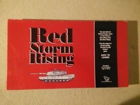 TSR Red Storm Rising Boardgame
