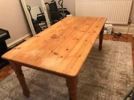 Solid Wood used Dining Table 6-8 people