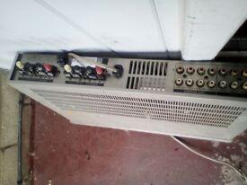 Sony Hi-Fi Stereo Amplifier 1980s used very little