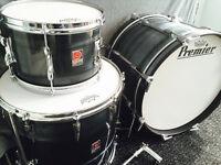 Premier Drum Kit - 1960's Shell Pack - Vintage Drum Kit