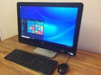 "DELL 9010 - 23"" Full HD All in One PC, Windows 10, Office, HDMI, USB 3.0, Desktop PC Computer"