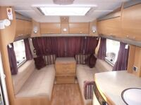 2006 swift conqueror 645 lux, twin axel, island bed