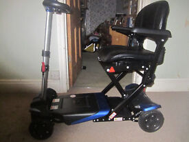 Monarch Smarti electronicaly folding mobility scooter