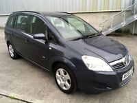 2008 (08) Vauxhall Zafira 1.6 16v Exclusiv 7 Seater ***LONG MOT***Great Driver***