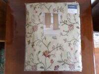 Curtains 168 x 229 cm - £30.00 - 2 of 2 pairs - pencil pleat type curtains *brand new*