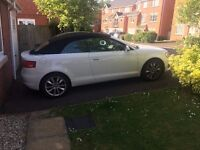 AUDI A3 Sport Cabriolet Convertible 1 owner low mileage FSH 12months MOT £30 tax low price