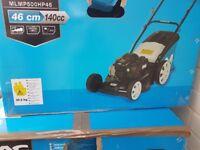 Petrol lawn mower brand new still in box