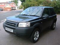 Landrover Freelander TD4 2.0L Diesel 5 Speed Manual 4X4 Estate