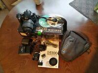 Nikon D5100 16.2MP Digital SLR Camera - Black. Kit VR 18-55 mm Lens