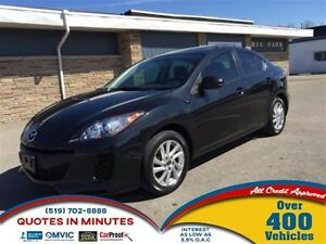 2013 Mazda MAZDA3 GS-SKY | SUNROOF | HEATED SEATS |