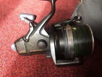 Shimano Big Baitrunner long cast in shimano tribal pouch in very good condition