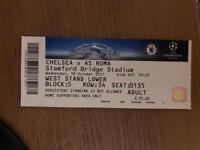 Chelsea-Roma ticket