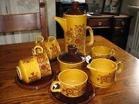 Vintage Palissy Sierra 72 Coffee Set
