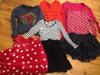 Girls clothing bundle age 9-10 (Next,Free spirit and George)